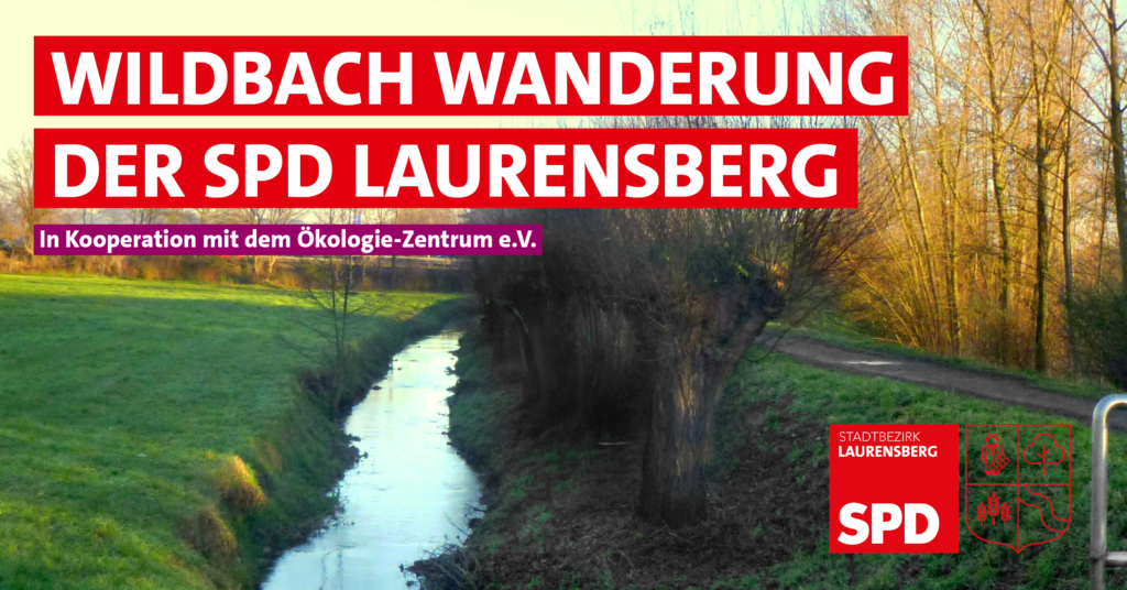 Wildbach-Wanderung der SPD Laurensberg